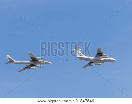 Tu-95Mc Planes And Il-78