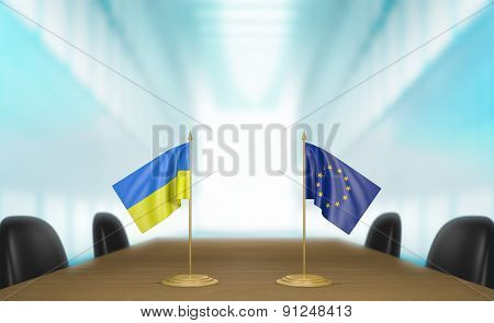 Ukraine and European Union deal talks