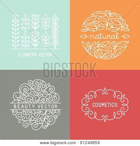 Vector Organic Labels