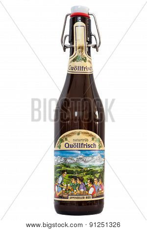 Bottle Of Beer Quollfrisch