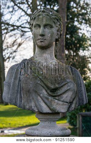 Roman Grecian bust