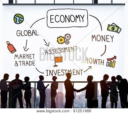Economy Business Economic Business Marketing Concept