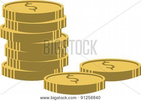 Vector Illustration. Money Concept.