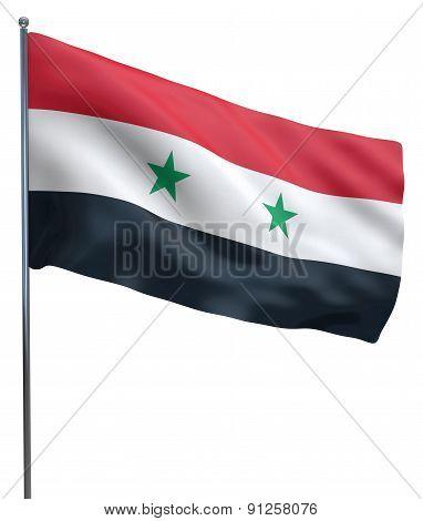 Syria Flag Waving