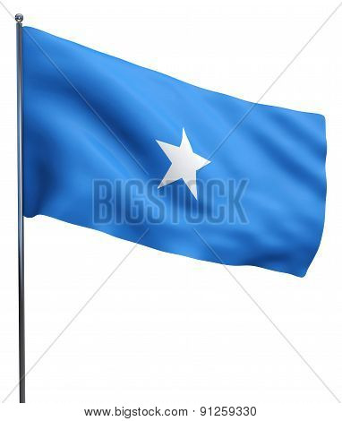 Somalia Flag Waving