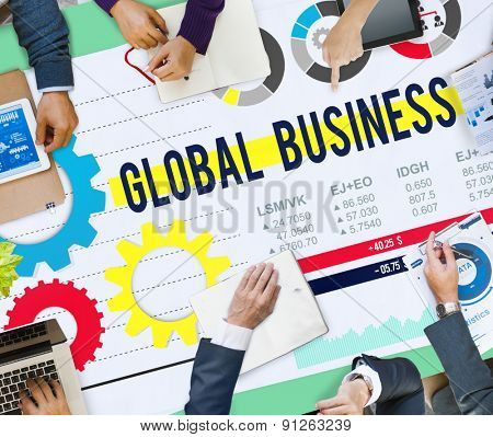 Global Business International Growth Enterpise Concept