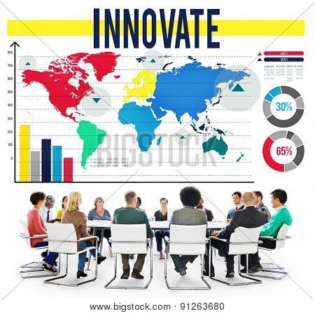 Innovate Inspiration Aspirations Invention Vision Concept