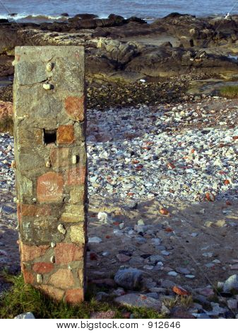 Pillar And Coastline
