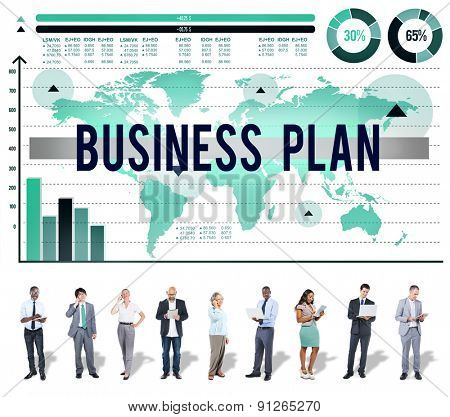 Business Plan Strategy Marketing Planning Concept