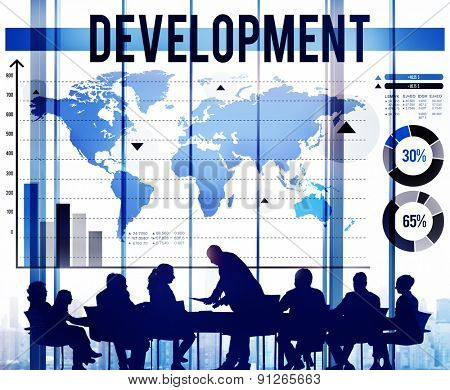 Development Growth Improvement Management Business Concept