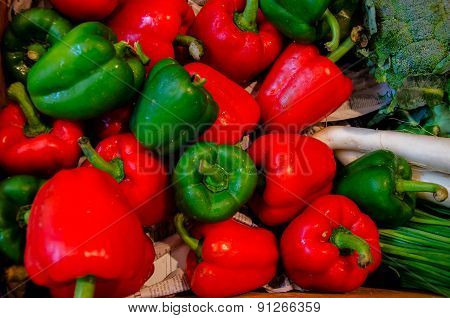 Various Types Of Peppers