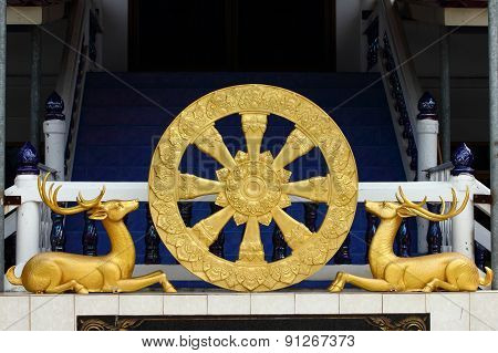 Dramachakra or Wheel of life