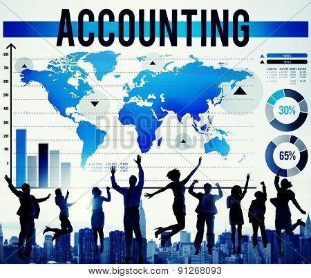Accounting Finance Business Banking Marketing Concept