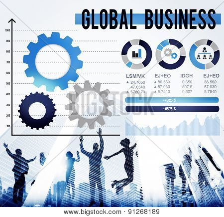 Global Business International Growth Enterprise Concept