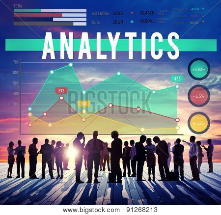 Analytics Analysis Business Marketing Concept