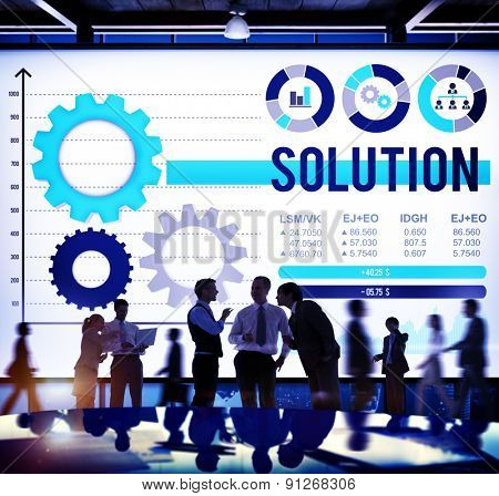 Solution Improvement Problem Solving Innovation Concept