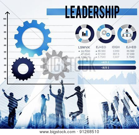 Leader Leadership Management Director Coach Concept