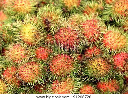 Delicious Tropical Fruit Rambutan