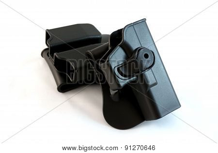 Holster On White Background