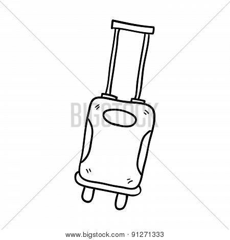 Luggage Hand Drawn Vector Illustration
