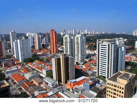 Santo Amaro city in Sao Paulo, Brazil