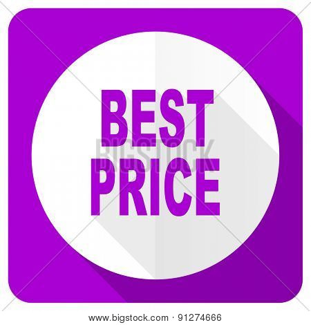best price pink flat icon