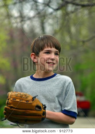 Boy With Glove