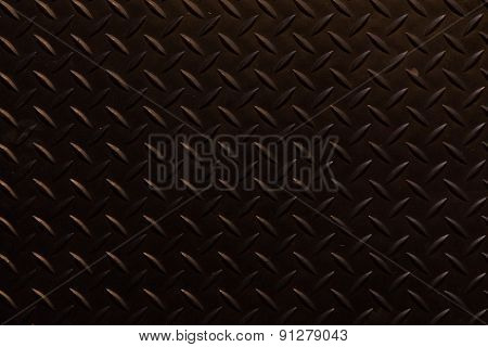 Black Traction Plate Background