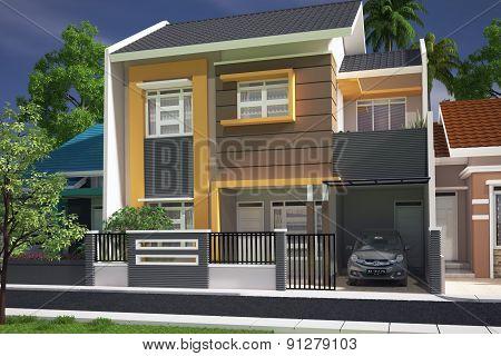 housing exterior