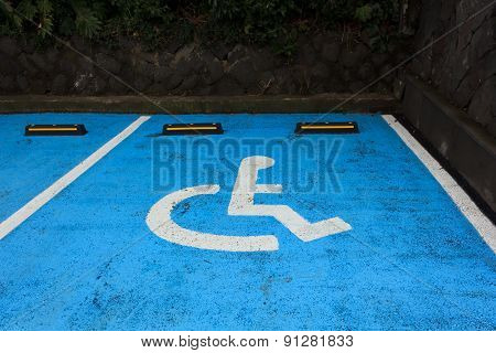 disabilities car park