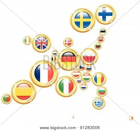 Europe In Coins