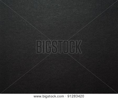 Black Cardboard Paper Background