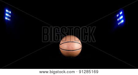 Basketball Sports With Floodlights