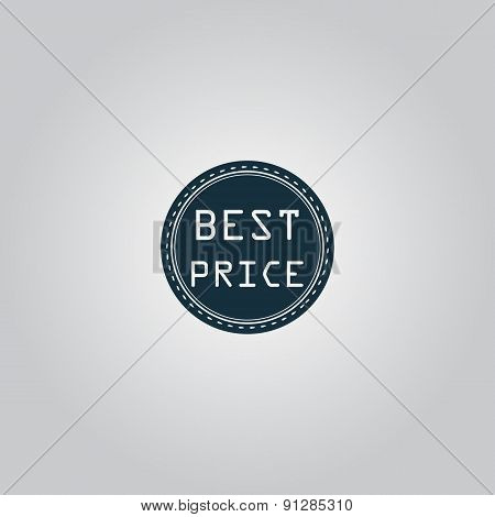 Best Price Icon, Badge, Label or Sticker