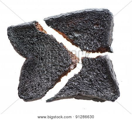 Broken Burnt Toast