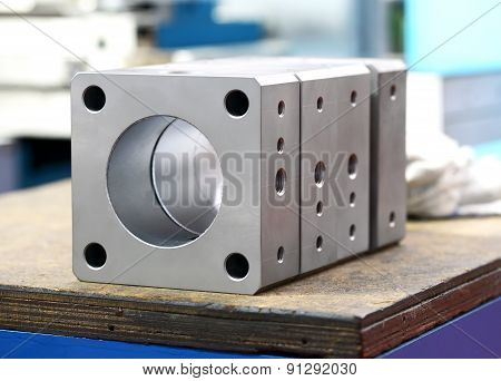 Newly Machined Industrial Components