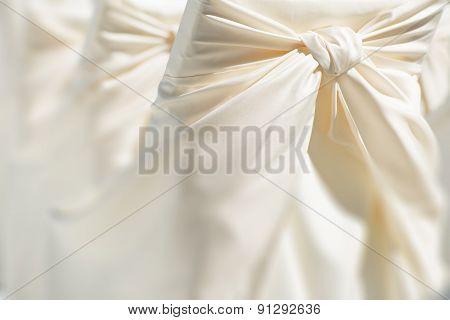 Festive Wedding Chair Decoration