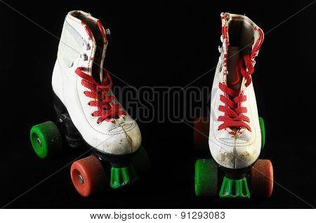 Consumed Roller Skate