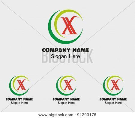 X icon logo letter X