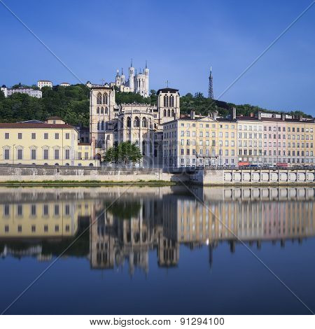 Famous View Of Saone River