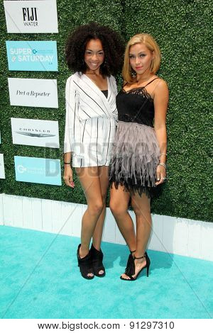 0LOS ANGELES - MAY 16:  Sweet Suspense at the Super Saturday LA at the Barker Hanger on May 16, 2015 in Santa Monica, CA