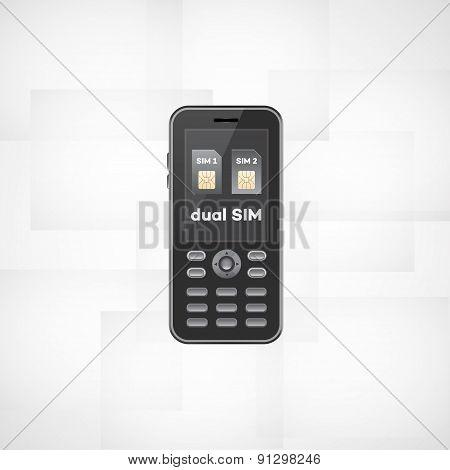 Dual Sim Phone.