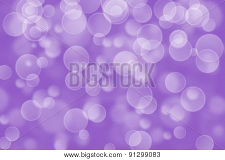 violet circle shape boke as background