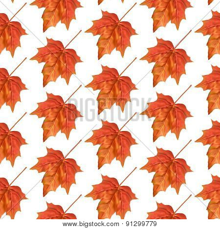 Autumn leaves seamless pattern. Texture for wallpaper, web site background, textile
