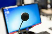 stock photo of recording studio  - technology - JPG