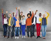 pic of diversity  - Diverse Diversity Ethnic Ethnicity Unity Variation Concept - JPG