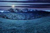 picture of mountain-high  - composite summer landscape with 3D mountains - JPG