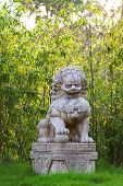 stock photo of guardian  - Buddhist sculpture - JPG