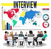 picture of interview  - Interview Interviewer Information Ideas Report Concept - JPG