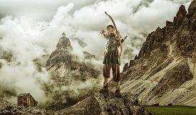 pic of archery  - The men - JPG